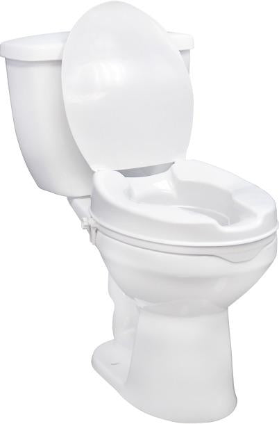 Raised Toilet Seat with/without Lid - Scooters and more