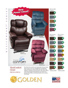 Cloud Medium/Large Recliner Chair, Lift Chair - Scooters and more