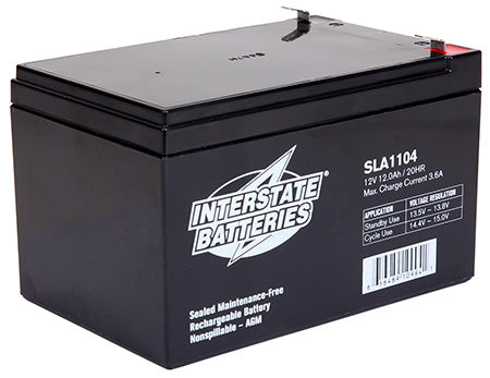 12V 12AH SLA1104 Battery - Scooters and more