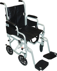 Poly-Fly High Strength, Lightweight Wheelchair/Flyweight Transport Chair Combo - Scooters and more