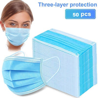 50 pcs Face Cover Disposable Mouth Cover, Face Mask - Scooters and more