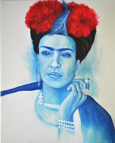 My Blue Frida Print 11x14