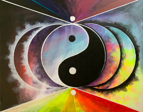 Mindfulness Through Art:  YIN YANG