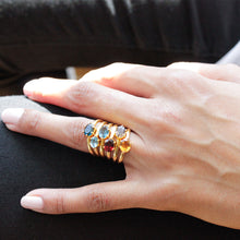 Load image into Gallery viewer, Semi Precious Stone Rings