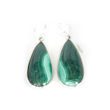 Load image into Gallery viewer, Malachite Earrings