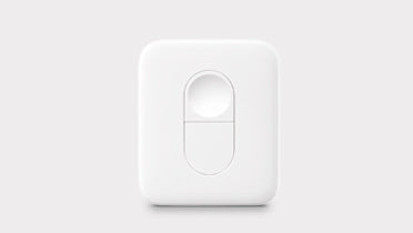 SwitchBot Remote - Simple click to control your home appliances and start your home automation. (Compatible with Google Home, Alexa, HomePod & IFTTT)