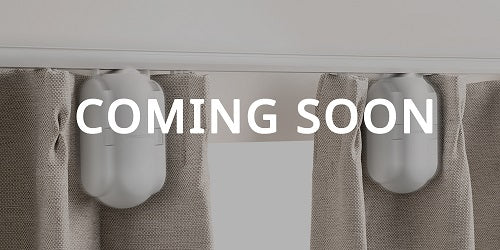SwitchBot Curtain is coming soon on website- Make your curtains smart in seconds. Retrofit&motorize existing curtains, no replacement needed. Wireless App, Timer Control, compatible with Google Home, Alexa, HomePod, IFTTT. (Hub is required)