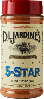 DLJ 5-Star Ranch Rub