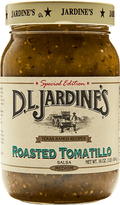 DLJ Roasted Tomatillo Salsa, Medium