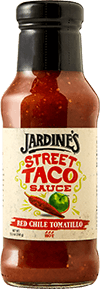 Jardine's Red Chile Tomatillo Street Taco Sauce, Hot