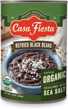 Load image into Gallery viewer, Organic Refried Black Beans