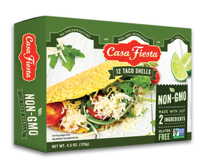 Non-GMO Taco Shells, 12 count