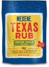 Load image into Gallery viewer, Mexene Texas Rub Green Chile Blend 4oz