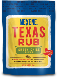 Mexene Texas Rub Green Chile Blend 4oz