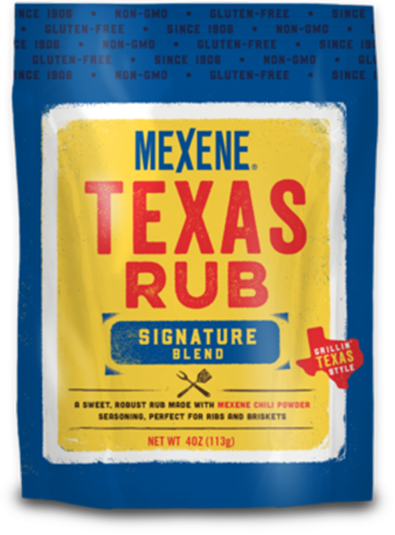 Mexene Texas Rub Signature Blend 4oz