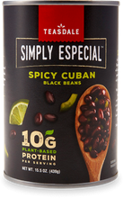 Load image into Gallery viewer, Teasdale Simply Especial Spicy Cuban Black Beans
