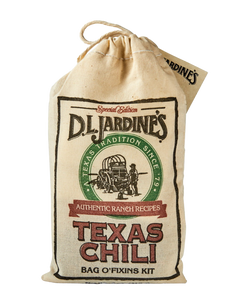 DLJ Texas Chili Bag O'Fixins Kit