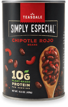 Load image into Gallery viewer, Teasdale Simply Especial Chipotle Rojo Beans