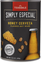 Load image into Gallery viewer, Teasdale Simply Especial Honey Cerveza-Flavored Navy Beans