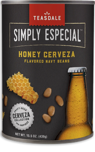 Teasdale Simply Especial Honey Cerveza-Flavored Navy Beans