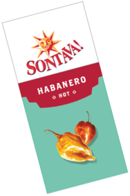 Sontava! Habanero Hot packets 8g - 200 per box