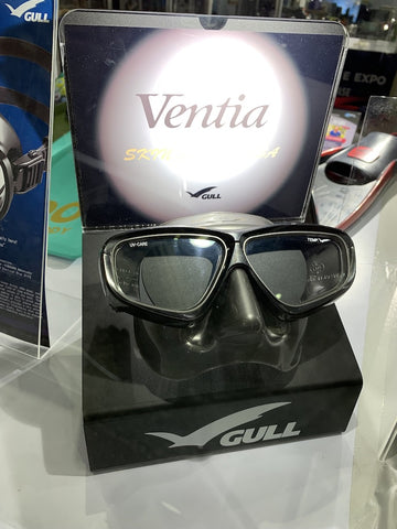 gull mask display stand