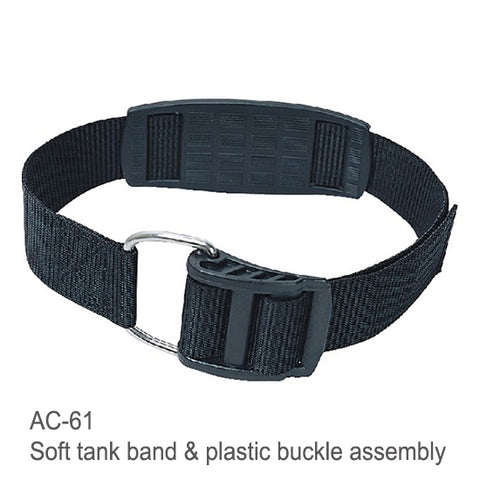 SOFT TANK BAND & PLASTIC BUCKLE