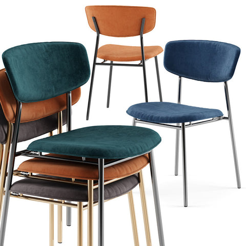 calligaris fifties dining chair