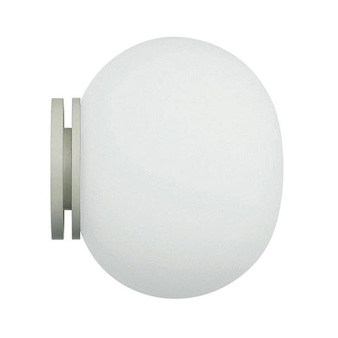 flos mini glo ball ceiling & wall lamp