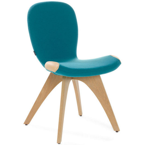 artifort patch 01 chair with 4 leg base