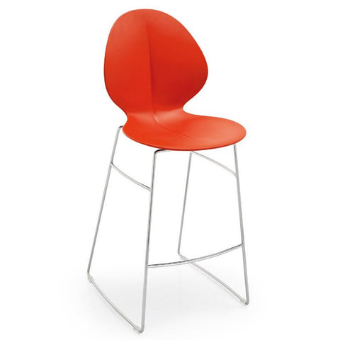 calligaris basil counter stool