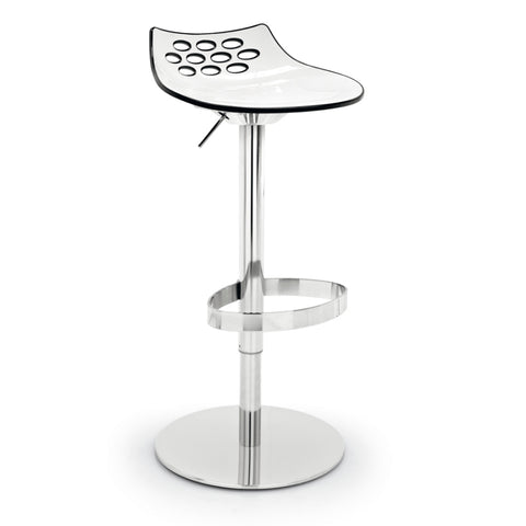 calligaris jam swivel bar stool
