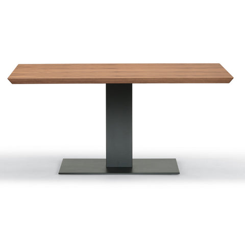 cattelan elvis wood drive dining table