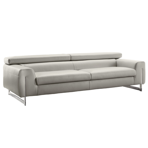 Gamma Bellevue 3 Seater Sofa in White