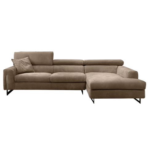 gamma bellevue sectionals with chaise clear