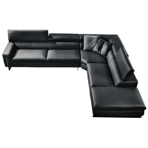 Gamma Bellevue Sectional with Return main