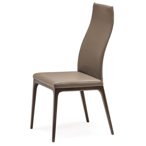 cattelan arcadia couture high back dining chair