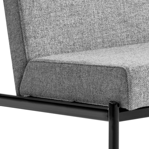 artek kiki lounge chair front detail