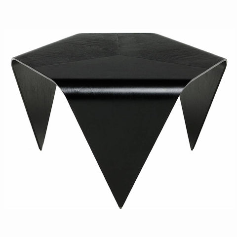 artek trienna coffee table black stained
