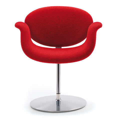 artifort little tulip chair with disc base