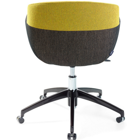 artifort mood active 5 star base chair back