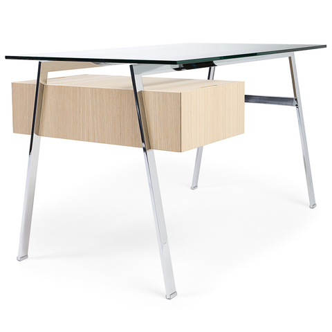 bensen homework desk 1 glass top