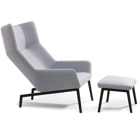 bensen park lounge chair and ottoman