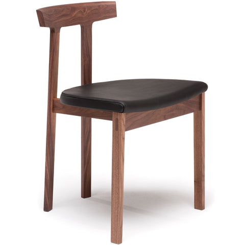 bensen torii chair in walnut