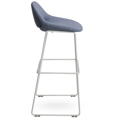 artifort beso metal leg stool