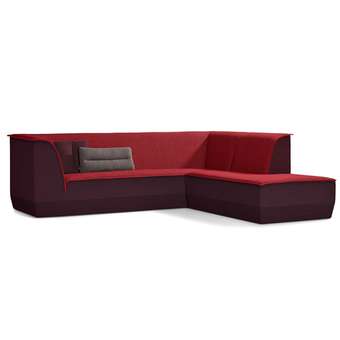 artifort big island 3 seat sofa with chaise