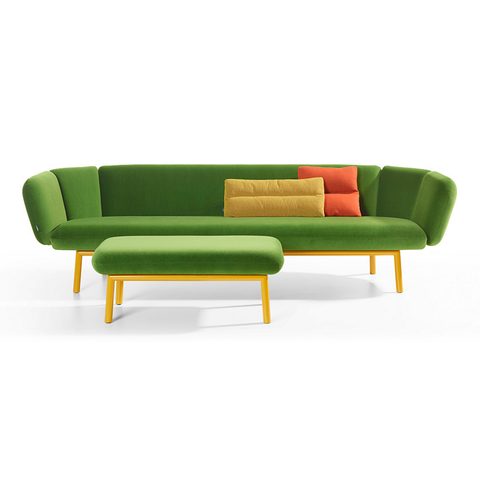 artifort bras footstool with sofa