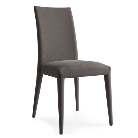 calligaris anaïs fabric chair in grey