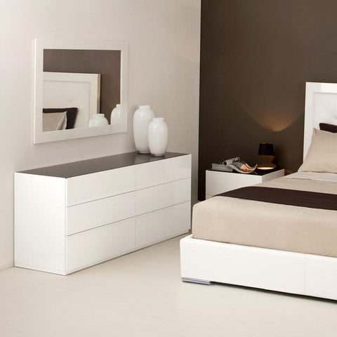 calligaris city dresser staged