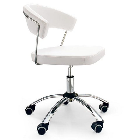 Calligaris New York Swivel Office Chair In White